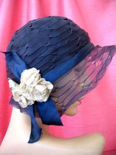 bluewillowblog: 1920's Easter Bonnet for the Parade