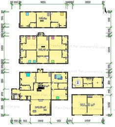 Floor Plan Creator, Commercial, Floor Plans, Diagram, Flooring, How To Plan, Wood Flooring, Floor Plan Drawing, Floor