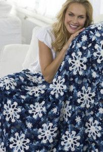 Winter is coming, and the Suzy Snowflake Afghan is ready to keep you warm! This amazing crochet blanket pattern is a kaleidoscope of blues that resemble the intricate ice formations inside snowflakes.