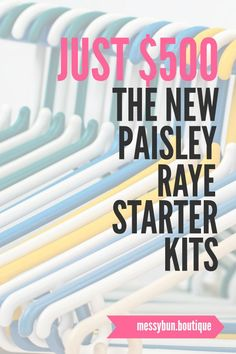 You can now start your Paisley Raye journey for as little as $500!  This amazing clothing direct sales company offer American made, stylish clothing.  With less than 200 consultants now is a great time to join #paisleyraye #directsales