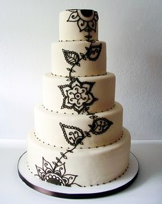 Traditional Wedding Cake Made by Inticing Creations in San Francisco