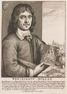 Wenceslaus (Václav) Hollar   Also see: https://www.bl.uk/picturing-places/articles/wenceslaus-hollar-as-a-map-maker