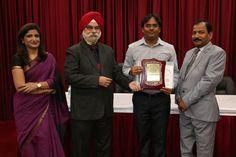 Dr. Vishwanath Mogali receiving certificate of  Fellowship in Minimal Access Surgery at World Laparoscopy Hospital. For more detail please log on to www.laparoscopyhospital.com