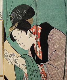 Pictures by Utamaro | HOKUSAI, HIROSHIGE, UTAMARO, SHARAKU Prints. Japanese Woodblock Prints ...