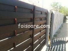 Poarta lemn, 4m x 2 m batanta