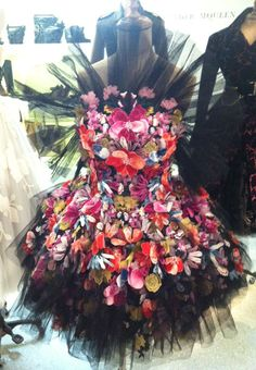 Check out this beauty from McQueen's Autumn Winter 2012 Dresses