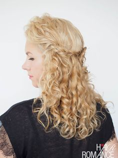 30 Curly Hairstyles in 30 Days – Day 13