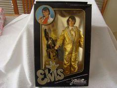 I'm selling EUGENE DOLL CO. ELVIS GRACELAND 1984 DOLL UNOPENED IN BOX GOLD LAME - $14.00 #onselz