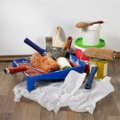Organizing Painting Tools and Supplies