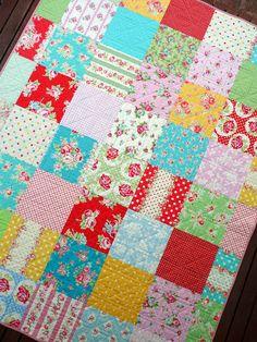 Red Pepper Quilts - Flower Sugar Quilt
