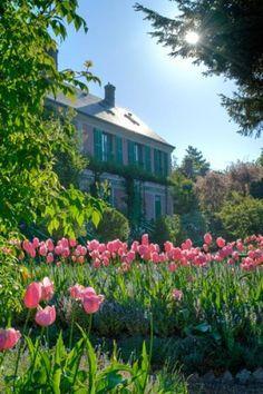 #Giverny, la ville des impressionnistes, et notamment de Claude #Monet, nous a ouvert ses portes et ses musées