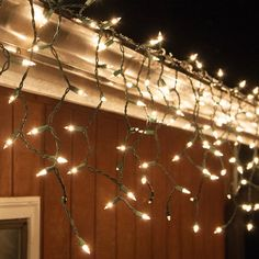 150 clear icicle lights green wire christmas icicle lights holiday lights light string