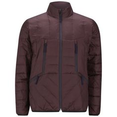 Paul Smith Jeans Men's Technical Geodesic Down Jacket - Burgundy: Image 01