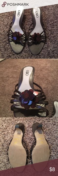 Cato dress sandals size 6. Brown dress sandals from catos size 6 Cato Shoes Sandals