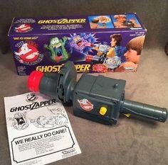 Vintage 1986 Kenner Ghostbusters Ghost Zapper Box Sound Lights Works