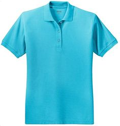 Ladies Short Sleeve Polo Shirts in 36 Colors and Sizes XS – 6XL