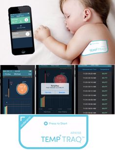 Worried about your sick child`s fever? Want to monitor your little one`s fever continuously without disturbing? TempTraq is the appropriate wearable for your kid...(To know more, double click the Pin. And please 'Add a comment' below)