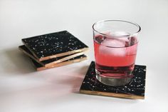 DIY Constellation Coaster | 50 Really Cool and Easy DIY Crafts For Teens | Crafts For Teens | DIY Projects for teens |DIY Crafts
