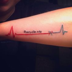 Organ donor tattoo i'm honor of my uncle :) life tattoos, heart