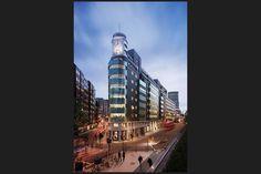 One New Oxford Street London, Commonwealth House, Green Pyrolave UK Bricks/Tiles Oxford Street London, New Oxford, Brick Tiles, Commonwealth, Cladding, Bricks, Empire State Building, Art Deco, Green