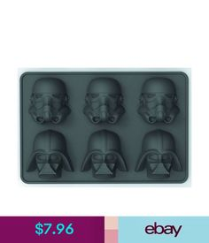 e7081538469c Bar Tools  amp  Accessories Star Wars Stormtrooper   Vader Ice Cube Tray In  Package Sfeb16