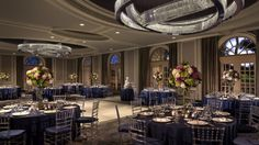 The Ritz-Carlton, Naples - Featuring LED lighting accents, Artisans ballroom is perfect for any function or occasion