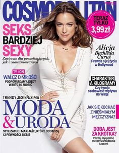 Alicja Bachleda  Cosmopolitan Magazine Cover [Poland] (September 2013)  Highlight Description Alicja Bachleda - Cosmopolitan Magazine Cover (September 2013)