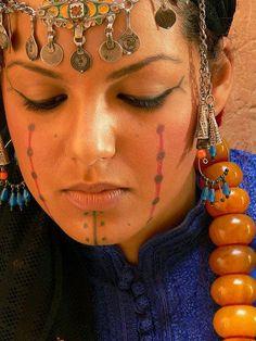 Berber woman, Morocco. امرأة بربرية، المغرب