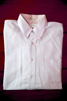 http://www.ebay.com/itm/252665321449?ssPageName=STRK:MESELX:IT&_trksid=p3984.m1555.l2649 Calvin Klein Men's Oxford Shirt Size 15 1/2, 34-35 (Light Pink) #CalvinKlein