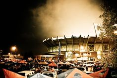 Bronco Stadium in the fall!    Boise State Football Photography Original by BoiseRiverGoods, $12.00