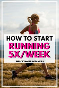 If you're looking to start running regularly, you'll love this post that breaks down how to start running 5 days a week. Find out the benefits of running often and why you might want to try it! #running #fitness