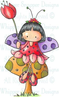 Kinley - Angels/Fairies - Rubber Stamps - Shop