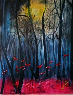 Éjszakai pillangók. porpasztell.. Painting, Art, Art Background, Painting Art, Kunst, Paintings, Gcse Art