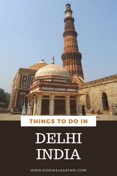 Looking for things to do in Delhi India? Plan your trip with this 3 day Delhi itinerary. India Travel, Us Travel, Travel Around The World, Around The Worlds, Stuff To Do, Things To Do, Delhi India, Incredible India, Plan Your Trip