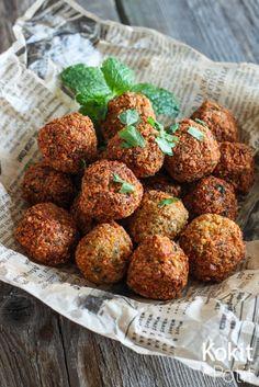 Kokit ja Potit: Falafelit - mainettaan helpompi homma