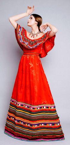 Robes mauve and belle on pinterest - Robe de maison simple ...