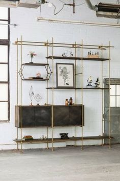Cool shelving system