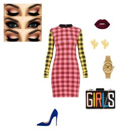 """""""How Funky is Ya Chicken?"""" by kimarazzi on Polyvore featuring Rolex"""