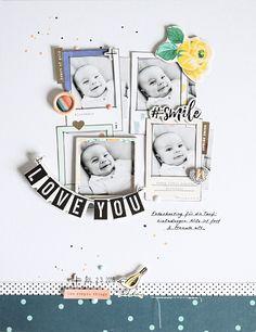 Layout *Love You* - Crate Paper / Maggie Holmes *Gather* - von Ulrike Dold