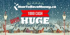 We're giving away $1,000 of our own money for Christmas 2017! Entering is free and easy so come join in the fun. Christmas Giveaways, Christmas 2017, Fall Fashion Colors, April Showers, Financial Tips, Ways To Save, Easy Peasy, Check It Out, Yup