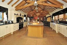 barn conversion kitchen