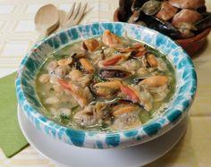 zuppa di ceci, bietole e molluschi di Anna Luisa e Fabio