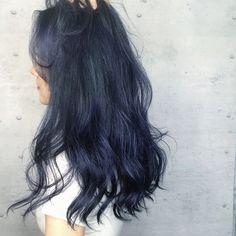 Hair Color Streaks, Ombre Hair Color, Cool Hair Color, Purple Hair, Hair Inspo, Hair Inspiration, Korean Hair Color, Wine Hair, Ulzzang Hair