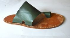 Simple Shoemaking: Custom sandals.