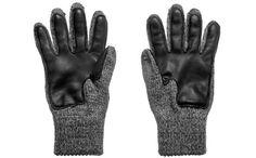 Deerskin Palm Ragg Wool Glove