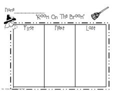 Room on the Broom sequencing activity page!
