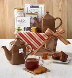 Wintry Warmu Up Tea Basket