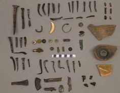 Corredo da tomba non identificata (Ref:05). Objects from unidentified grave (Ref:05)