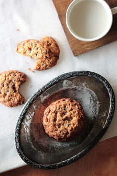 Toffee Chocolate Chip Cookies by pastryaffair, via Flickr