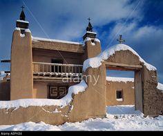 San Jose De Gracia Church Sangre De Cristo Mountains New Mexico ...